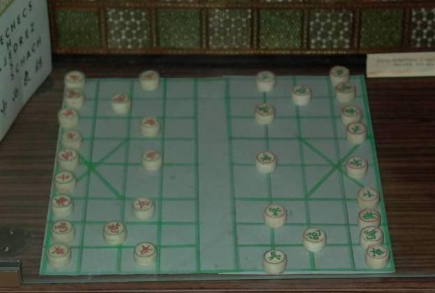 китайские шахматы сянци в Музее шахмат РШФ