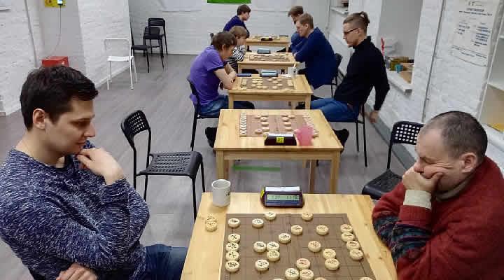 турнир-двоеборье по сёги и сянци в Санкт-Петербурге